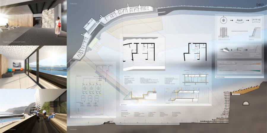 Concours Evolo - Riaux Marseille planche technique - Mind Architecture