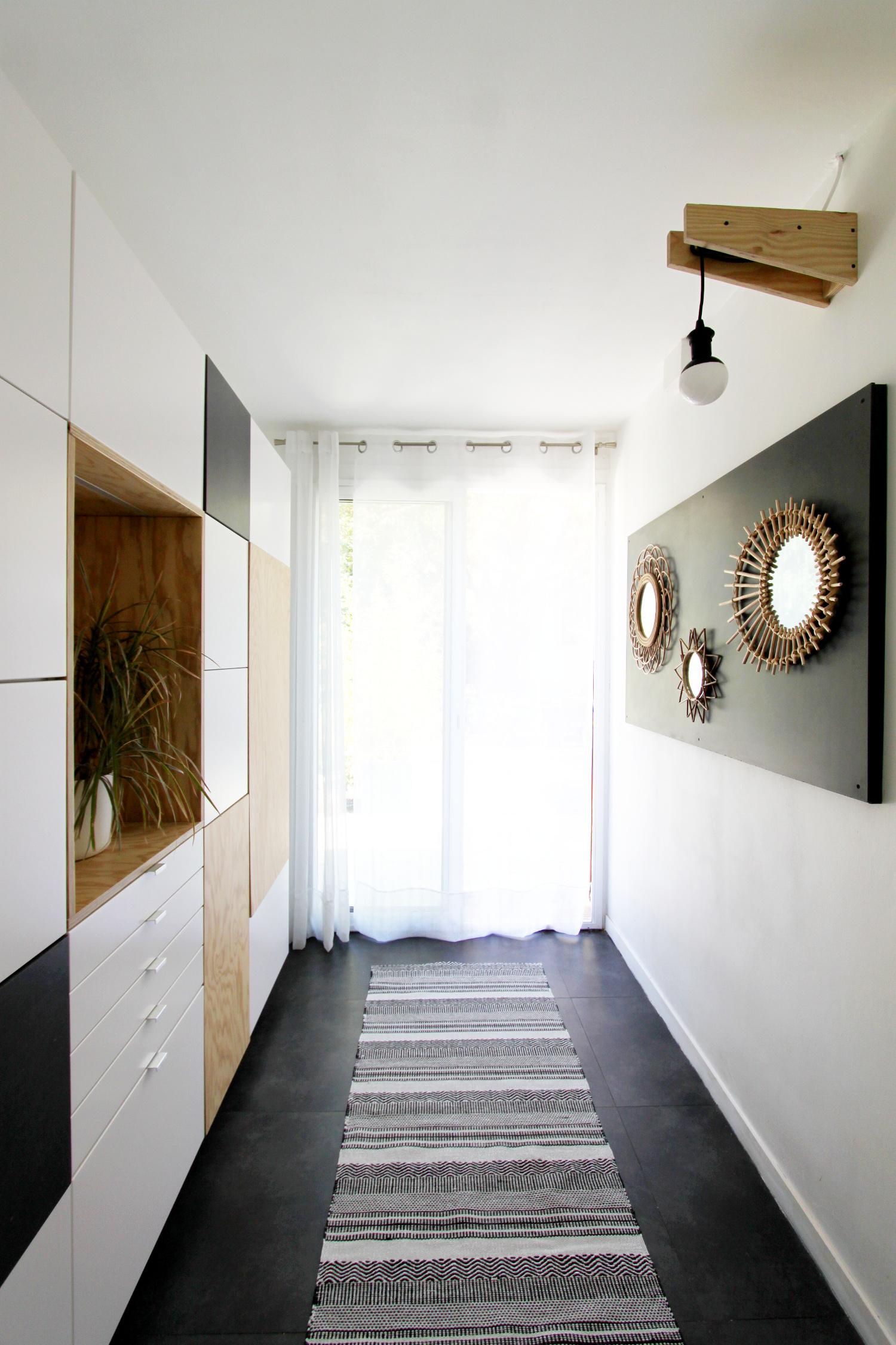 couloir d 39 entr e mind architecture. Black Bedroom Furniture Sets. Home Design Ideas