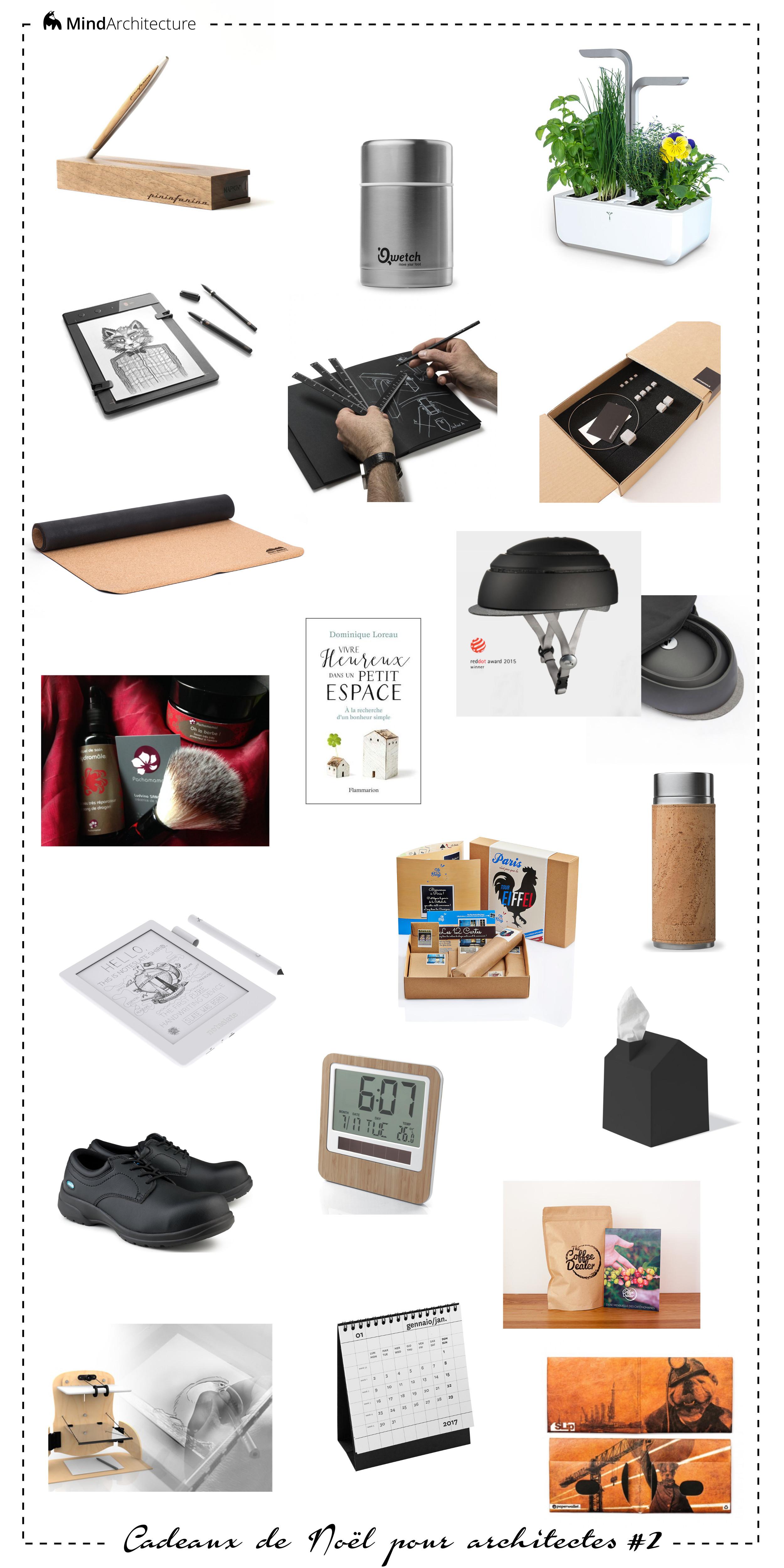 Idées cadeaux Noël architectes - Mind Architecture