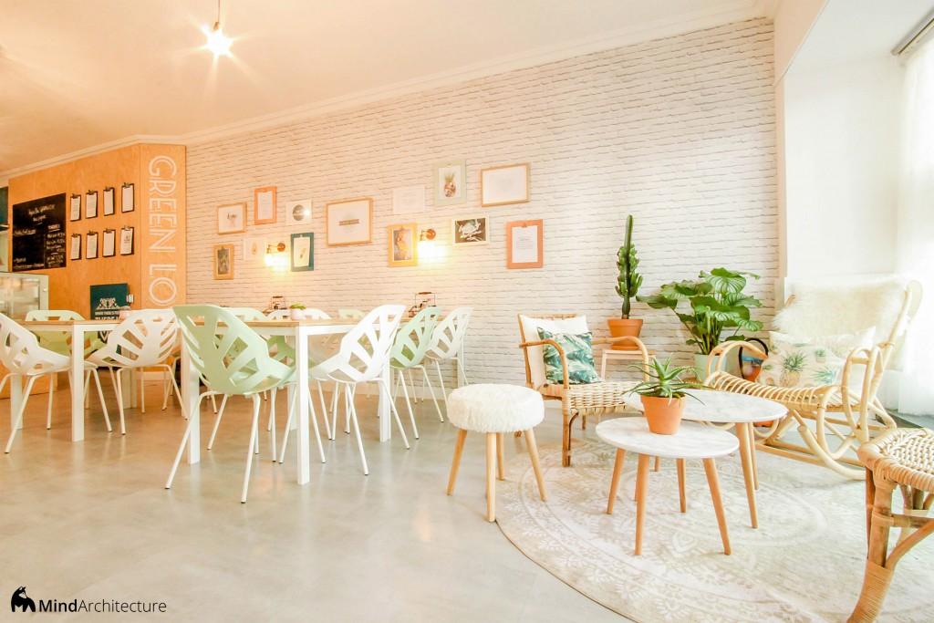 Green Love Marseille - Mind Architecture - Vue depuis la banquette