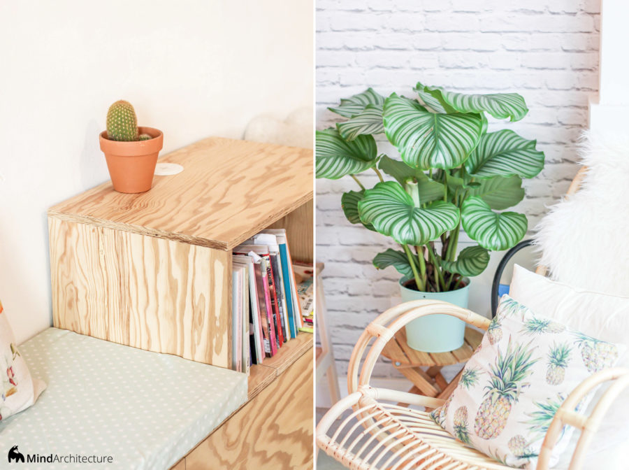 Green Love Marseille - Mind Architecture - Details banquette