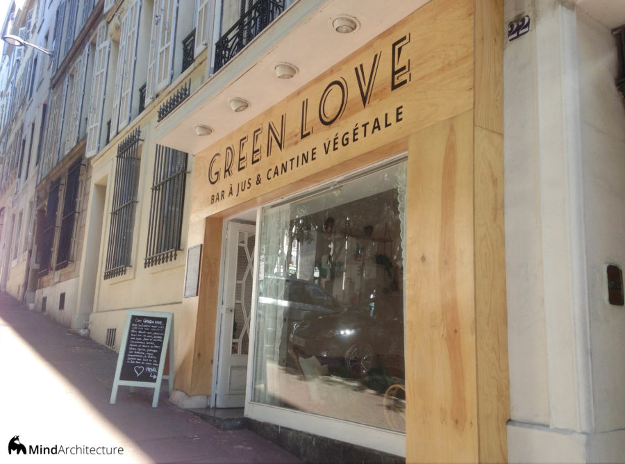 Green Love Marseille - Mind Architecture - Facade