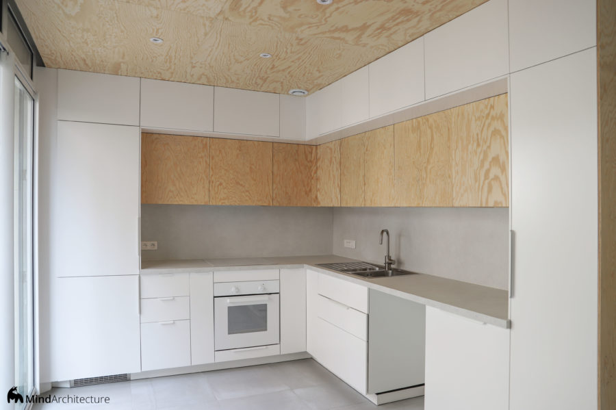 Appartement Blancarde Marseille - cuisine - Mind Architecture