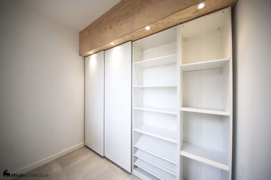 Appartement Blancarde Marseille - dressing - Mind Architecture