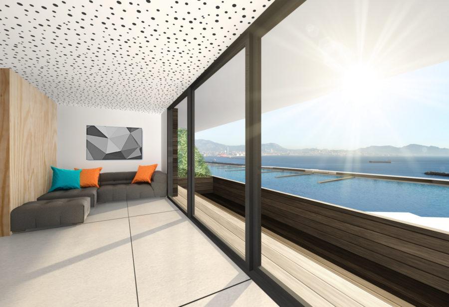 Concours Evolo - Riaux Marseille logements - Mind Architecture