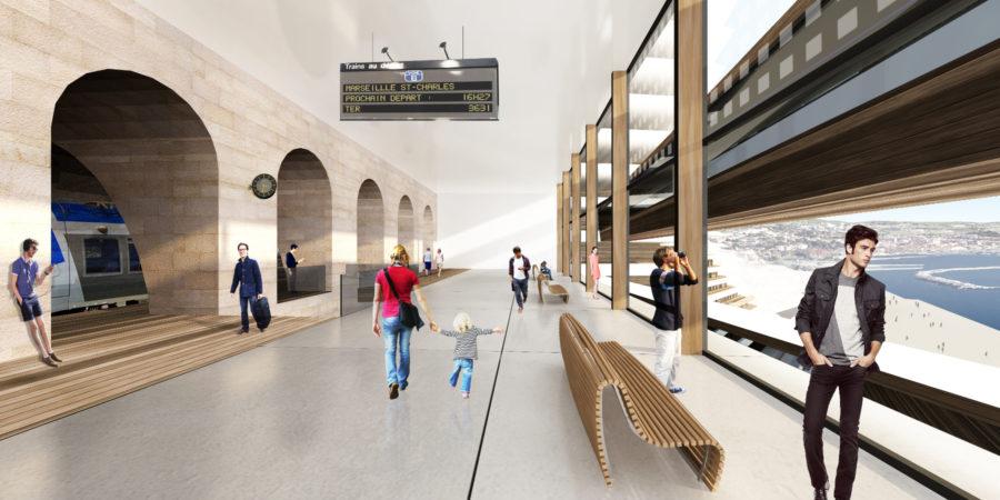 Concours Evolo - Riaux Marseille gare - Mind Architecture