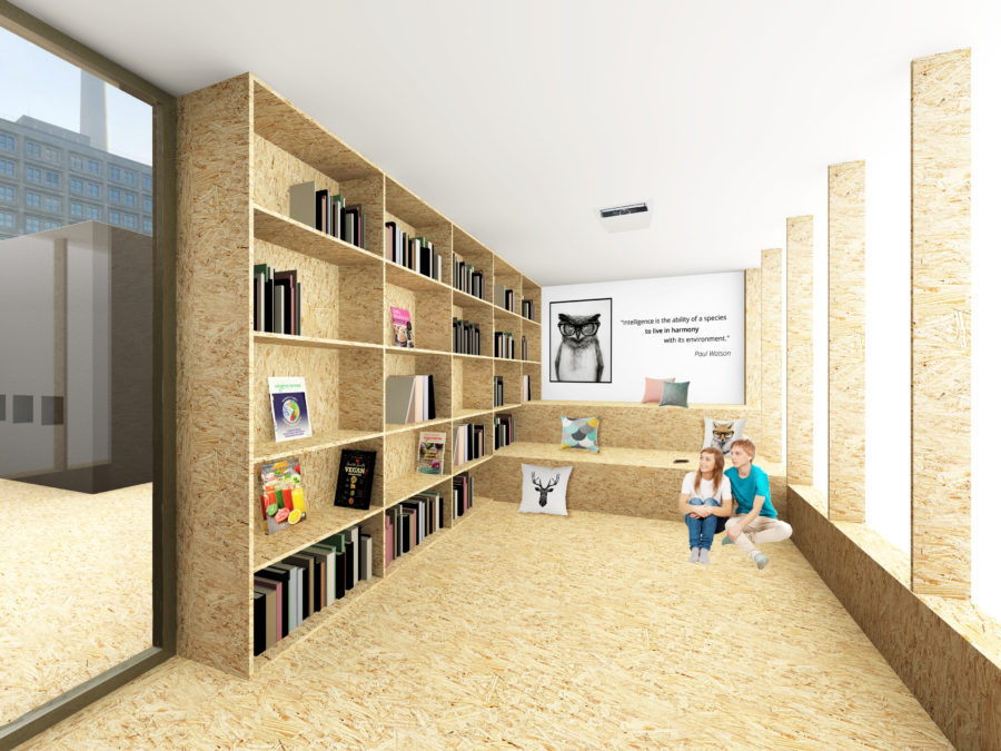 AC CA Berlin - The Vegan Ethicurean library - Mind Architecture