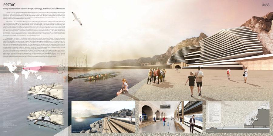 Concours Evolo - Riaux Marseille planche principale - Mind Architecture