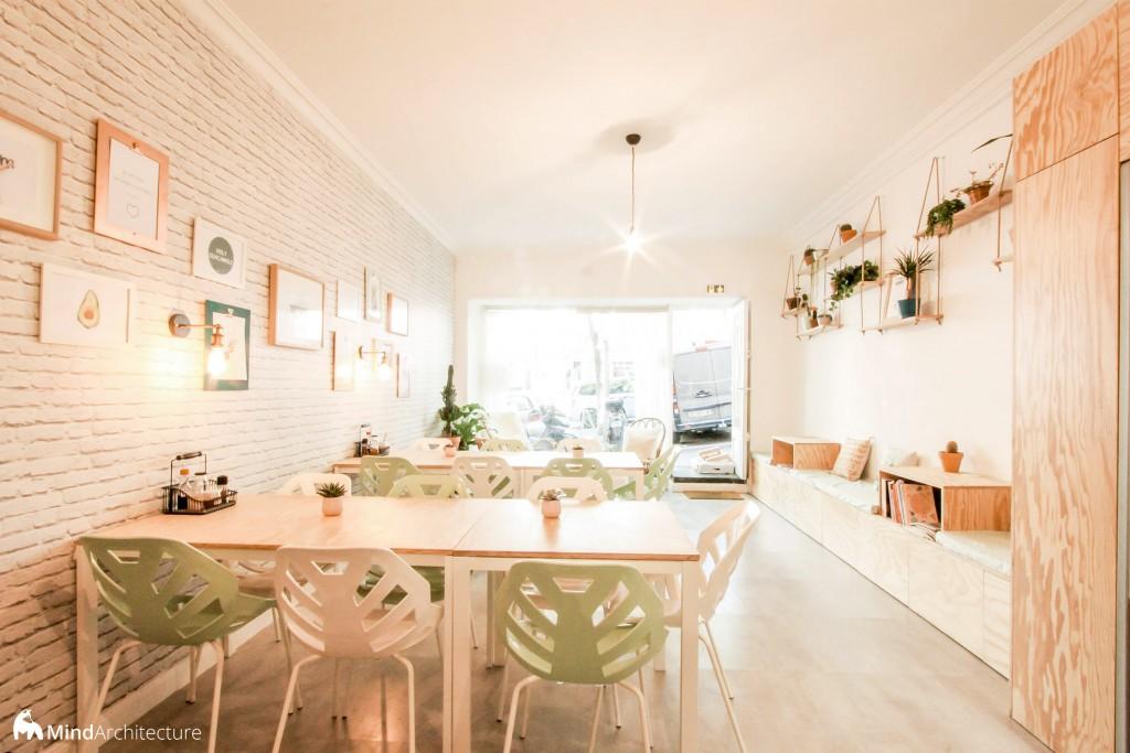 Green Love Marseille - Mind Architecture - Salle de restauration