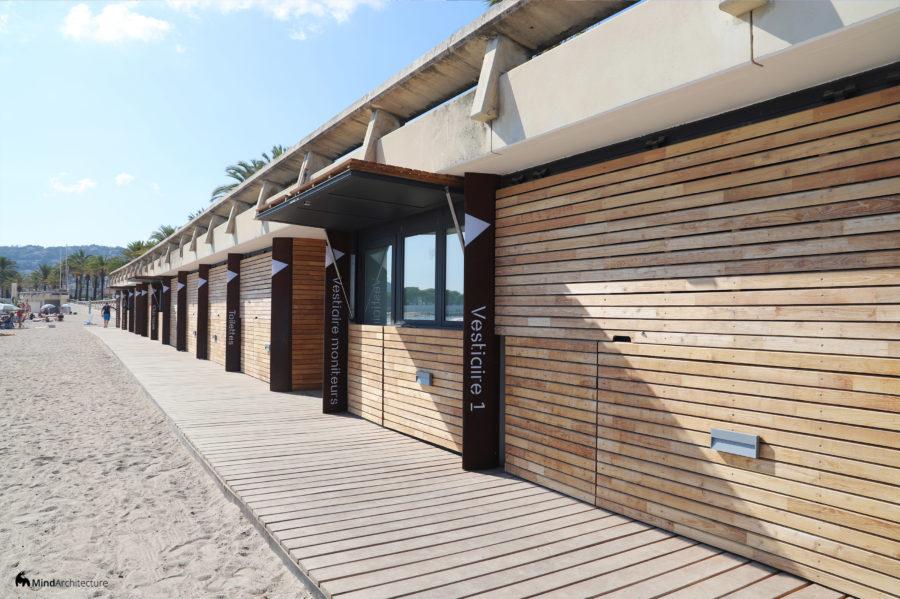 Base nautique Golfe-Juan - Mind Architecture - Photo jour volet