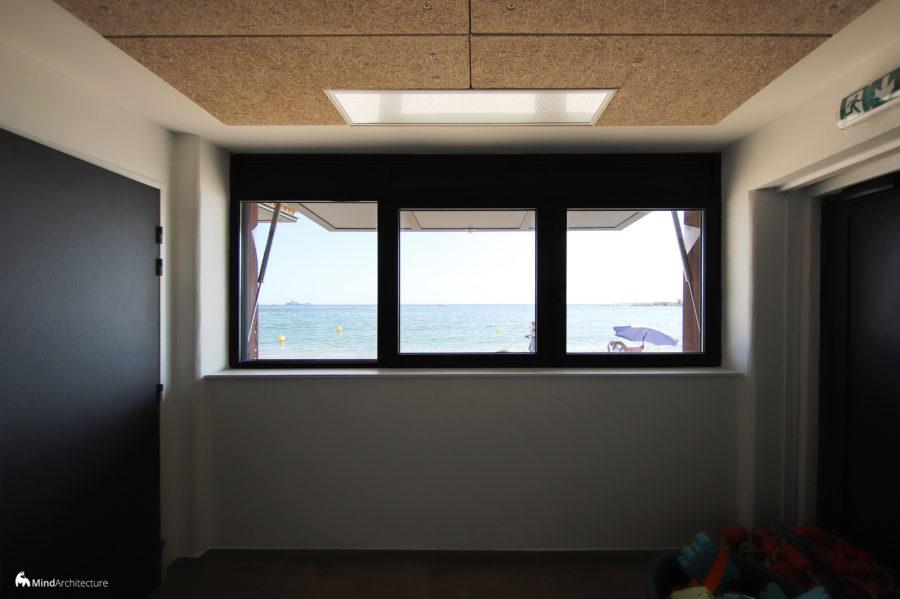 Base nautique Golfe-Juan - Mind Architecture - Photo intérieur