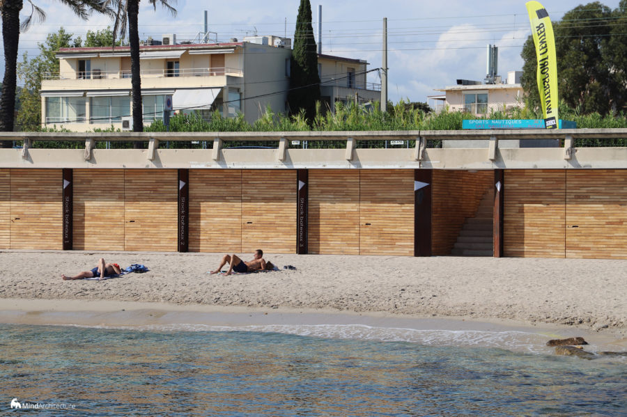 Base nautique Golfe-Juan - Mind Architecture - Photo portes en bois